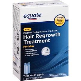 Изображение Эквейт пена миноксидил 5% для мужчин на 3 месяца