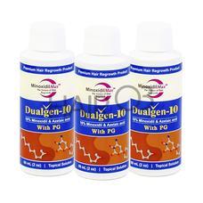 Миноксидил 10% (Dualgen 10) набор на 3 месяца