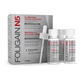 Изображение Foligain  миноксидил5% low alcohol на 3 месяца