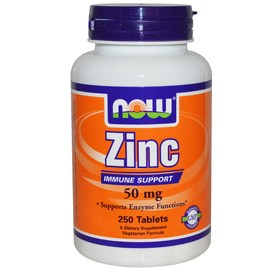 Цинк 50 мг, 250 капсул