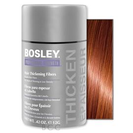 Изображение Bosley кератиновые волокна - красно-коричневые