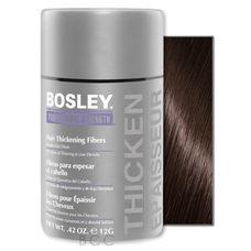 Bosley кератиновые волокна - темно-коричневые