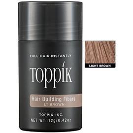 Изображение Пудра загуститель для волос Toppik (светло-коричневый) 12гр